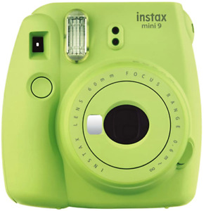 Polaroid Fujifilm Instax Mini 9 Instant Film Camera Lime Green Hand Strap