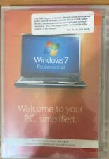 Microsoft Windows 7 PRO PROFESSIONAL SP1 32Bit OEM FULL VERSION