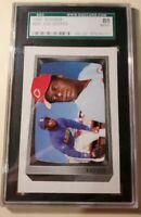1989 Bowman Ken Griffey #259 SGC Graded 88 Near Mint