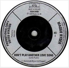 "Maggie Ryder ‎– Don't Play Another Love Song  7"" vinyl  disc,"