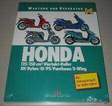 Reparaturanleitung Honda Motorroller 125 / 150 cm³ Viertakt SH Dylan PS Pantheon