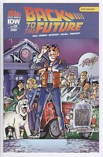 Back to the Future #3 Subscriber Variant Cover Idw Comics Archie Cover Month
