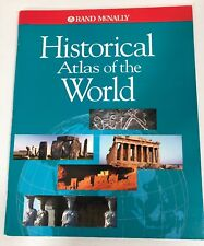 HISTORICAL ATLAS OF THE WORLD BOOK RAND MCNALLY
