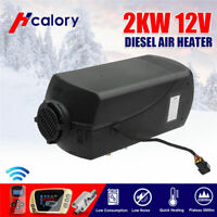 12V 2KW/2000W Air Diesel Heater LCD Thermostat Switch Remote For Car Truck Boat