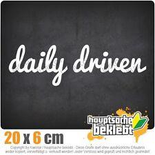 daily driven csf0150 20 x 6 cm JDM  Sticker Aufkleber