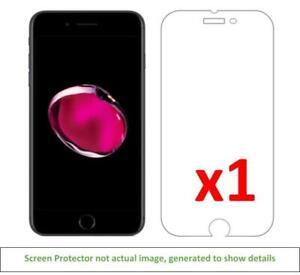 1x iPhone 7 Plus iPhone 8 Plus Anti-Scratch Screen Protector w/ cloth