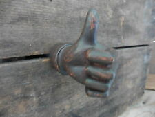 Thumbs Up Novelty Knob Dresser Cabinet Drawer Pull ~ Nostalgic ~ Man Cave Decor