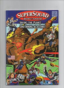 Supersquad #1 - Baseball's Superstars - (Grade 9.0) 2002