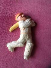 cricket trophy / novelty measuring 21 cm featuring a plaster batsman