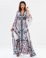new CAMILLA FRANKS SILK SWAROVSKI IN HER SHOES KIMONO SLEEVE DRESS layby availab