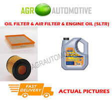 DIESEL OIL AIR FILTER KIT + LL 5W30 OIL FOR VAUXHALL ASTRA 1.7 80 BHP 2004-06