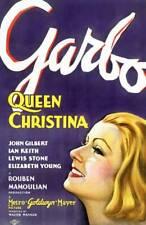 Queen Christina Poster Greta Garbo 1933 OLD MOVIE PHOTO