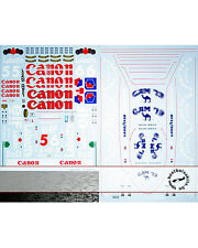 FULL SPONSOR REPLACEMENT DECAL for TAMIYA 1/12 WILLIAMS FW14B MANSELL