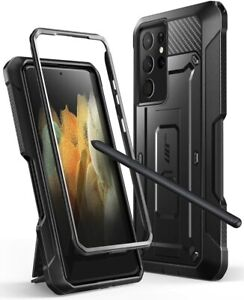 For Samsung Galaxy S21 Ultra 5G, SUPCASE Kickstand Case with S Pen Slot Cover UK