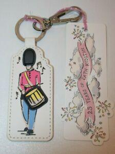 Cath Kidston KeyRing Bag Charm Keyfob 25 Years Celebration Brand New Gift Guards