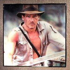 HARRISON FORD Ceramic Tile Coaster Indiana Jones Raiders Of The Lost Ark