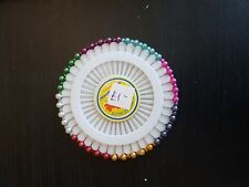 Perno rueda Alfiler Coser Dressmaker Hijab Pin Pin de cabeza de perla