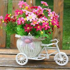 Plastic Bike Design Triciclo cestino del fiore Contenitore Per la casa di nozze`