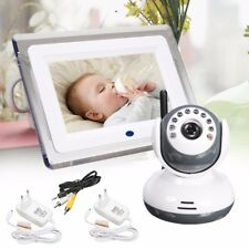 "2.4GHz Wireless 7"" TFT LCD Video Baby Monitor with Night vision Remote Camera"