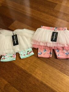 Girls Size 6 Rock Your Baby Kid Circus Tutu Shorts Brand New With Tags