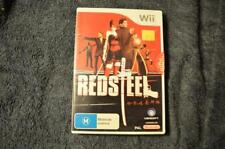 RED STEEL Nintendo WII GAME WORKING AUS RELEASE PAL Complete aus release