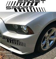 Fits Chevy Camaro Fender Vinyl Sport Logo Decals Racing Sticker Bumper graphics