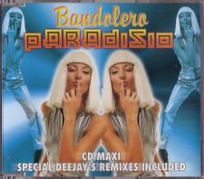 PARADISIO - Bandolero -CDM- 1998 - CD MAXI - ITALY Euro House