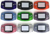 Nintendo Gameboy Advance Shell Housing Transparent Clear Game Boy IPS Ready Trim