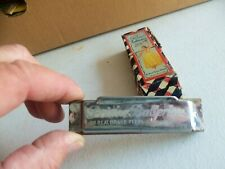 Vintage Prima Ballerina Harmonica In Original Box 20 Real Brass Reeds