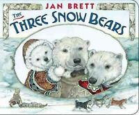 Three Snow Bears, Hardcover by Brett, Jan, Brand New, Free shipping in the US