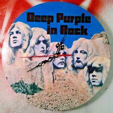 Deep Purple In Rock  - Orologio da parete - introvabile - unico !