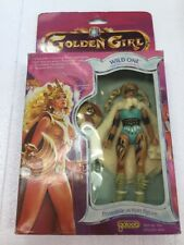 1984 Golden Girl & the Guardians of the Gemstones WILD ONE poseable figure