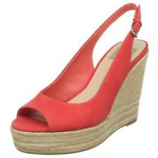 Dolce Vita Coral Suede Leather Espadrilles wedge pumps Size 9.5 B, Medium