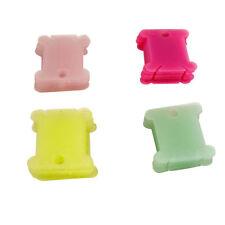 50pcs Plastic Thread Bobbins for Cross Stitch Embroidery Floss&Craft Storage
