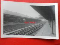 PHOTO  STALYBRIDGE RAILWAY STATION 12/5/56