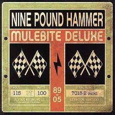 NINE POUND HAMMER - Mulebite Deluxe - CD ** Very Good Condition **