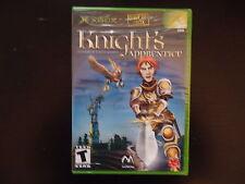 Knight's Apprentice Microsoft XBOX Complete in Box CIB BRAND NEW SEALED
