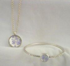 Jockey P2P Silver Tone metal bracelet & Necklace set in original box MINT  gift
