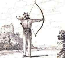 ARCHERY History of Archery Bow Arrows & Archers Archer Bows 63 ebooks on CD disc