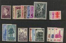 Belgium nice lot of Mint  NH  stamps