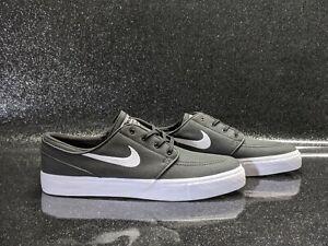 Nike Zoom Stefan Janoski SB Low Black White 615957-016 Men's Size 10 Black Camo