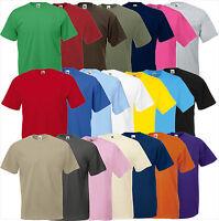 5er Set FRUIT OF THE LOOM Shirt Valueweight  S M L XL XXL 3XL 4XL 5XL(B)Pack FOL