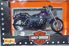 MOTO HARLEY DAVIDSON DYNA SUPER GLIDE SPORT 2000 1/18  MAISTO