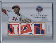 2014 Topps Triple Threads All-Star Patches AROLDIS CHAPMAN Patch #8/9  (B3794)