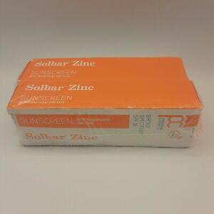 Solbar Zinc Oxide Sun Protection Cream SPF 38 Sunscreen 4 oz Pack of 2 Sealed