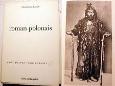 H.A.BAATSCH/ROMAN POLONAIS/ED P.BORDAS ET FILS/1979/EO/1000 EX/PEU COURANT/DADO