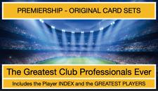 THE GREATEST CLUB PROFESSIONAL - PREMIERSHIP TEAMS - ORIGINAL SETS