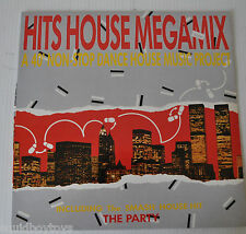 HITS HOUSE MEGAMIX LP Record Italo Megamix Gino Latino  -