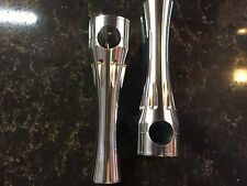 HARLEY RISERS HIGH END  BILLET RISERS 1 INCH SHOW POLISHED 4, 6, 8 INCH 1 PAIR