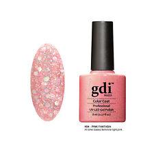 Diamond Glitter Nail GEL Polish by GDI Nails London UV LED Soak 8ml Post K04 - Pink Fantasia